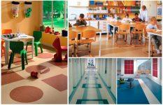 Линолеум для детского сада требования