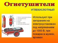 Огнетушитель в электрощитовой требование