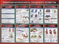 Требования пожарной безопасности к складам общего назначения