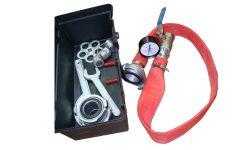 Прибор для проверки пожарных кранов на водоотдачу