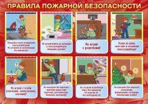 Основные правила пожарной безопасности для детей