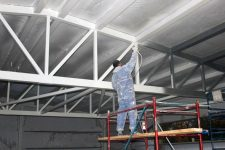 Защита металлических конструкций от пожара