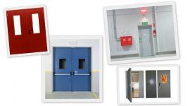 Лицензированная установка противопожарных дверей