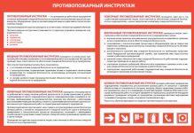 Инструкция вводного противопожарного инструктажа по новым правилам