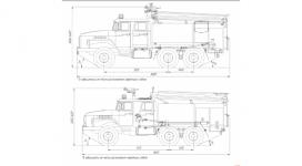 Пожарная машина урал 5557 технические характеристики