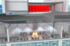 Модульные установки пожаротушения тонкораспыленной водой автоматические