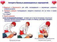 Первая помощь и особенности проведения реанимационных мероприятий