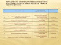 Программа предэкзаменационной подготовки электротехнического персонала