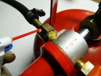 Как проверить газовый баллон на утечку